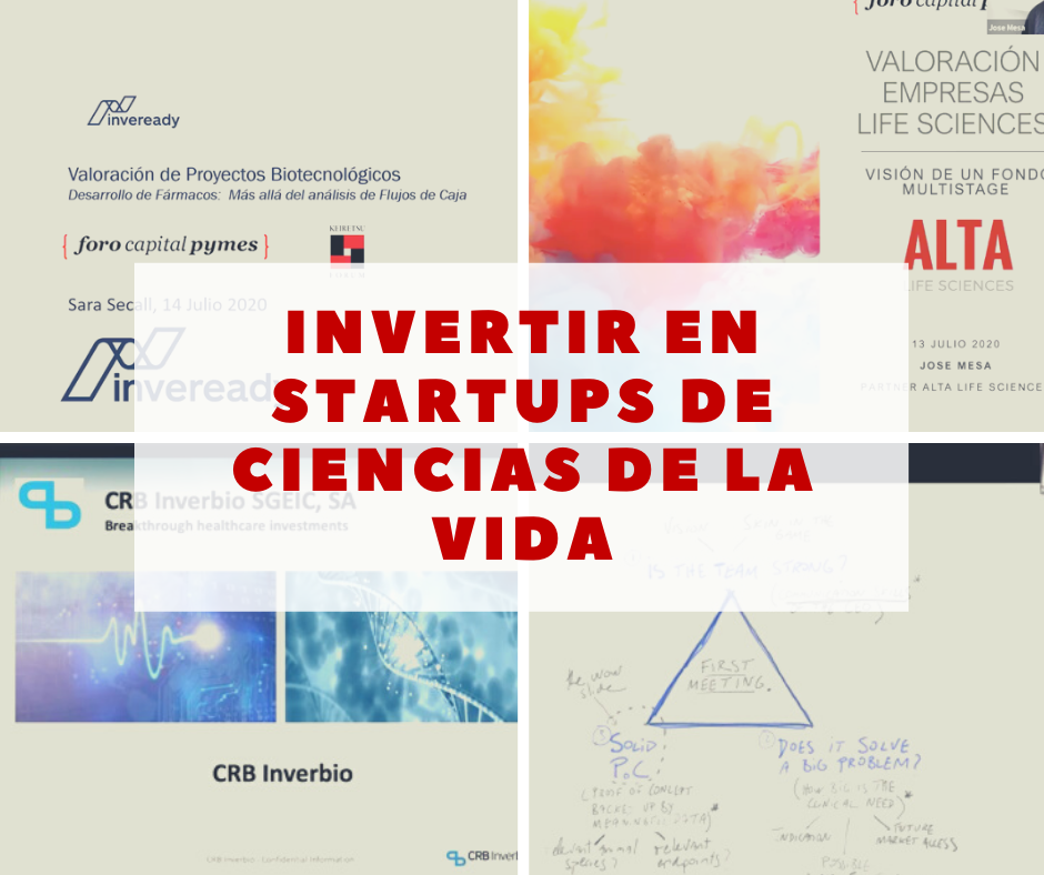 Inversion startups ciencias de la vida