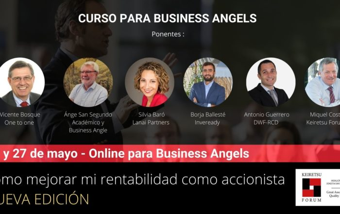Curso para inversores Business Angels