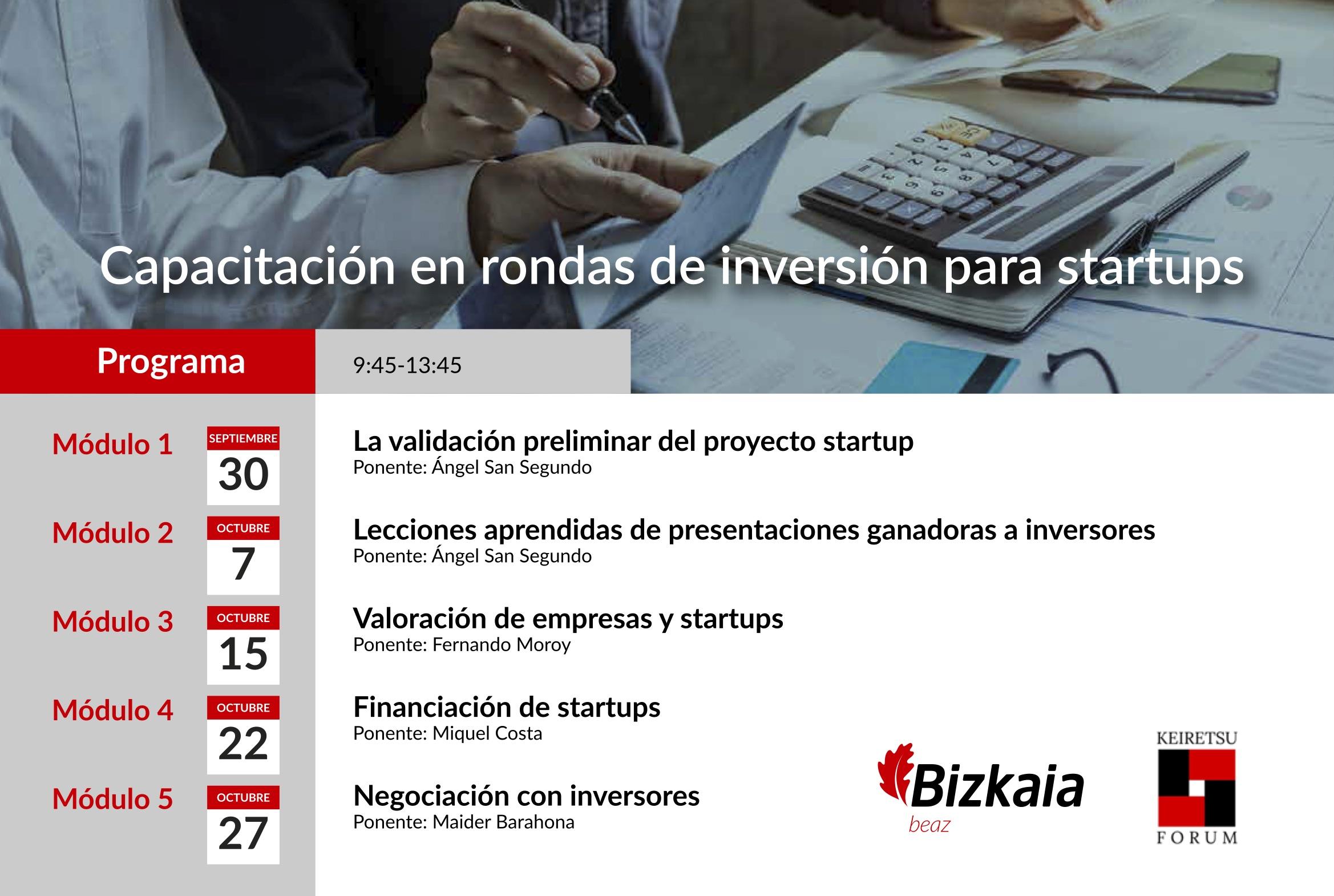 Inversión startups Bizkaia